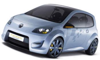 Présentation du concept-car Renault Twingo Concept, qui annonce sous ces traits de sportive la future et très attendue Renault Twingo 2.
