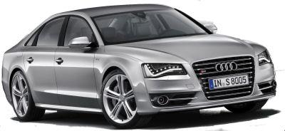 Présentation officielle de l'Audi S8 de 2012..