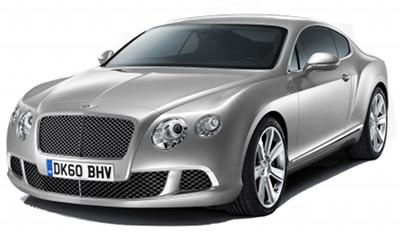 Présentation de la Bentley Continental GT de 2011..