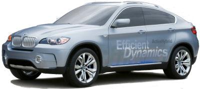 Présentation du concept-car BMW Concept X6 ActiveHybrid