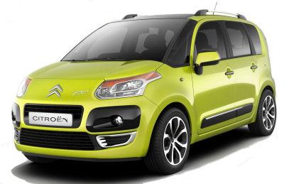 Découvrez les premières images de la Citroën C3-Picasso, qui concurrencera de la Renault Modus ou autre Opel Meriva avec des atouts certains..