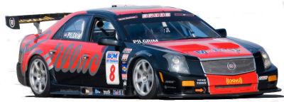 Présentation complète de la Cadillac de course dérivée de la Cadillac CTS de série.