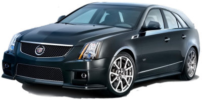 Présentation de la <b>Cadillac CTS-V Sport Wagon</b>..