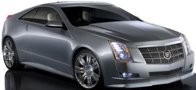 Présentation du concept-car <b>Cadillac CTS Coupé Concept</b>, qui annonce fidèlement la future Cadillac CTS Coupé..