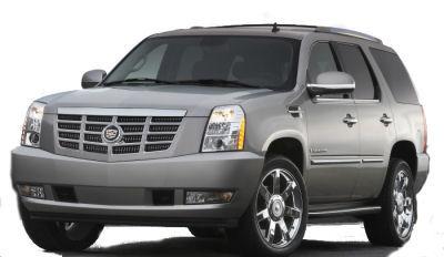 Présentation du SUV de luxe Escalade de Cadillac. Ce SUV introduira une motorisation hybride annoncée comme innovante (seulement parce qu'elle a été développée en collaboration avec Mercedes-Benz et le groupe BMW?) en 2008..