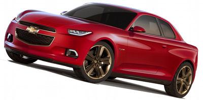 Présentation du concept-car Chevrolet Code 130R Concept de 2012.