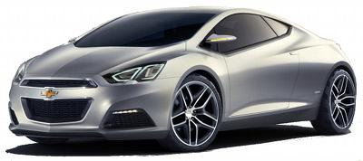 Présentation du concept-car Chevrolet Tru 140S Concept de 2012.
