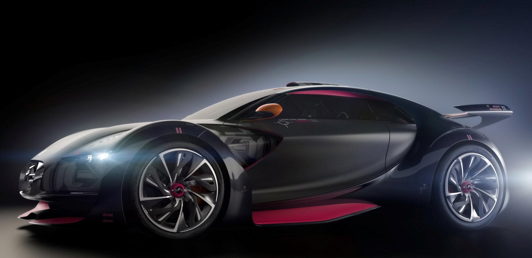 Présentation du concept car Citroën Survolt. Un concept électrique dérivé de la GTbyCitroën. Une sportivité exacerbée pour zéro émissions de CO2..