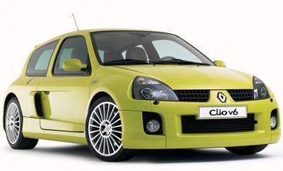 Présentation du concept-car Renault Clio V6