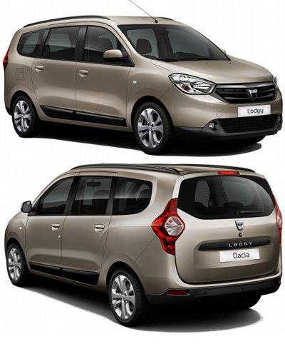 La gamme Dacia s'étend avec le Dacia Lodgy, premier monospace compact de la gamme. Construit au Maroc vers Tanger, ce monospace devrait débuter à 10 000€, soit la moitié du prix de son grand frère Renault Scenic 3.  Certes, les équipements devraient être moins fournis dans le Dacia Lodgy, les moteurs moins performants... mais ce monospace devrait quand même prendre des parts de marché au Scenic, mais aussi aux concurrents Citroën C4-Picasso, Peugeot 3008,...