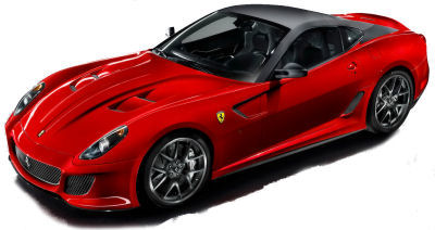 Présentation de la <b>Ferrari 599 GTO</b>.