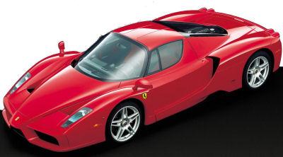 Présentation de la supercar <b>Ferrari Enzo</b>.