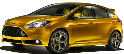 La Ford Focus ST de 2012 est la déclinaison sportive de la dernière génération de Ford Focus. Le moteur à 5 cylindres de 2,5L est changé pour un 2,0L turbo à injection directe essence: 250ch pour une baisse de la consommation de 20%.