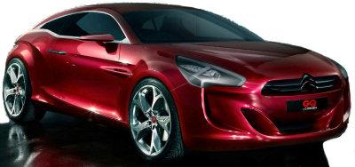 Présentation du concept car Citroën GQ by Citroën. Un coupé d'exception conçu en partenariat avec le magazine masculin britannique GQ.