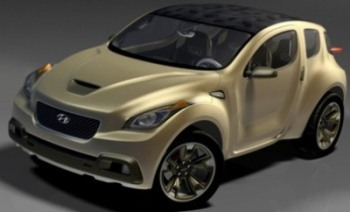 Découvrez le concept-car <b>Hellion</b> de Hyundai. Un cross-over SUV /coupé sportif, inspiré par l'univers organique.