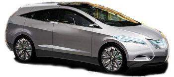 Découvrez le concept-car <b>i-BLUE</b> de Hyundai. Démonstrateur de la technologie de la pile à combustible..