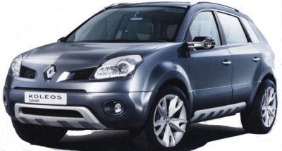 Présentation du concept-car Renault KOLEOS.