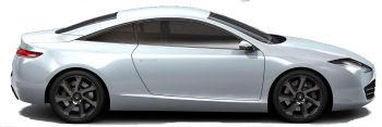 Présentation du concept-car Renault Laguna 3 Coupé Concept, qui annonce (presque) officiellement la future Renault Laguna 3 Coupé, qui va sans doute redorer le blason de la famille Laguna et susciter de l'enthousiasme (le design de la Laguna 3 étant marqué par un conformisme affligeant ou des choix stylistiques douteux - cf feux arrière).