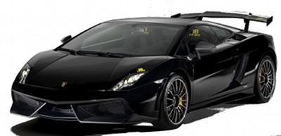 Présentation de la supercar <b>Lamborghini Gallardo LP 570-4 Blancpain Edition</b> de 2011.