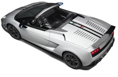 Présentation de la supercar <b>Lamborghini Gallardo LP 570-4 Spyder Performante</b> de 2011.
