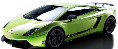 Présentation de la supercar <b>Lamborghini Gallardo LP 570-4 Superleggera</b> de 2010.