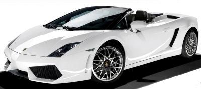Présentation de la supercar <b>Lamborghini Gallardo LP 570-4 Spyder</b> de 2009..