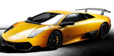 Présentation de la supercar <b>Lamborghini Murcielago LP 670-4 Superveloce</b> de 2009.