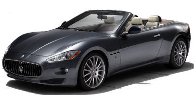 Présentation de la <b>Maserati GranCabrio</b> de 2010.