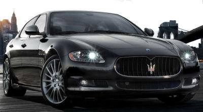 Présentation de la <b>Maserati Quatroporte Sport GT S</b> de 2009..