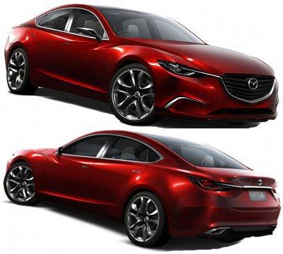 Présentation du concept car Mazda Takeri Concept de 2011.