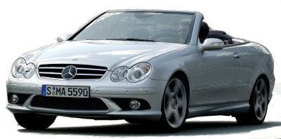 Présentation du SUV <b>Mercedes-Benz CLK 500</b> de 2007.