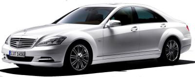 Présentation de la <b>Mercedes-Benz Classe S</b> de 2009..