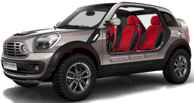 MINI beachcomber Concept: Le concept car MINI Beachcomber Concept ravive le mythe <b>MINI Moke</b>.
