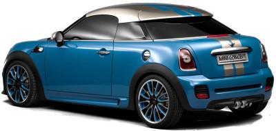 Présentation du concept car MINI Coupe Concept, sportif et agressif à souhait..