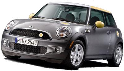 Concept car électique sur base de MINI: la MINI E, dévoilée en 2009.