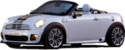Présentation du concept car MINI Roadster Concept (2009).