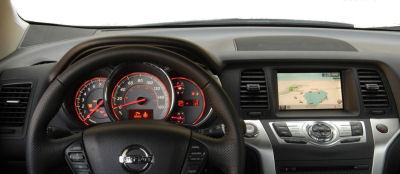 Galerie de photos de l'intérieur du Nissan Murano 2.