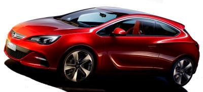 Présentation de l'<b>Opel GTC Paris Concept</b>. Ce concept car sera présenté au Mondial de l'Automobile de Paris 2010, et annonce la future Opel Astra Coupé. Des lignes modernes, aguichantes, dérivées de la dernière Opel Astra.