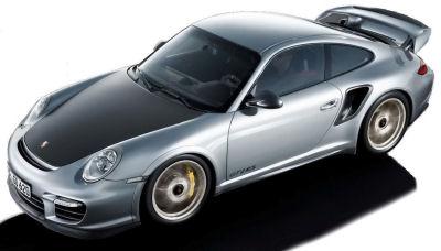 Présentation de la nouvelle Porsche 911 GT2 RS de 2011.