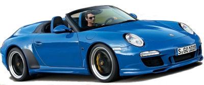 Présentation de la nouvelle Porsche 911 Speedster de 2011.