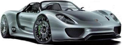 Présentation de la nouvelle Porsche 918 Spyder Concept.