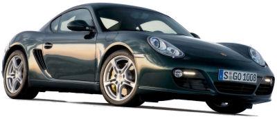 Présentation de la nouvelle Porsche Cayman S de 2009.