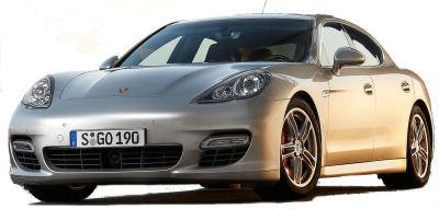 Présentation de la nouvelle Porsche Panamera Turbo..