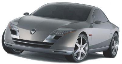 Présentation du concept car <b>Renault Fluence</b> de 2004, coupé 4 places innovant d'une élégance rare. Certains éléments de son design extérieur seront repris sur la Renault Laguna 3 Coupé.