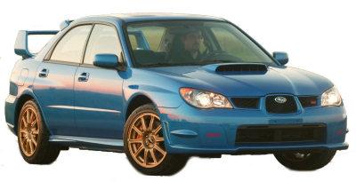 Présentation de la Subaru Impreza WRX STI de 2006.