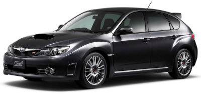 Présentation de la Subaru Impreza WRX STI de 2008.