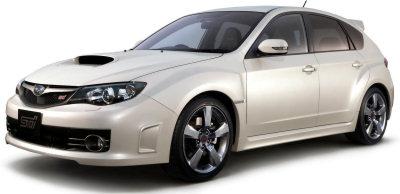 Présentation de la Subaru Impreza WRX STI A-Line de 2009.
