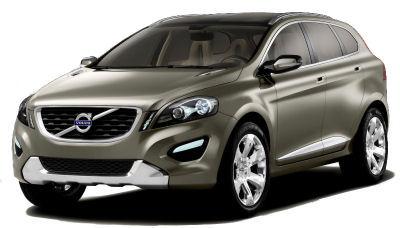 Présenté en 2006, ce concept-car <b>Volvo XC60 Concept</b> incarne le futur SUV compact de la gamme, qui viendra compléter par le bas le Volvo XC90.